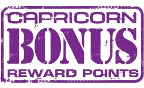 Capricorn Bonus Reward Points